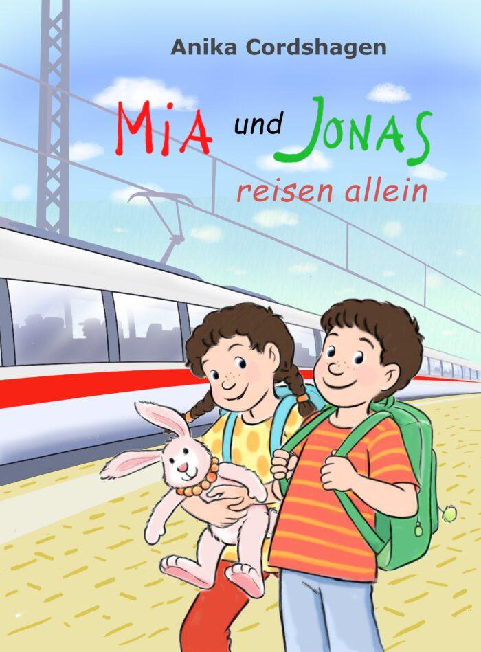 Cover Mia und Jonas reisen allein